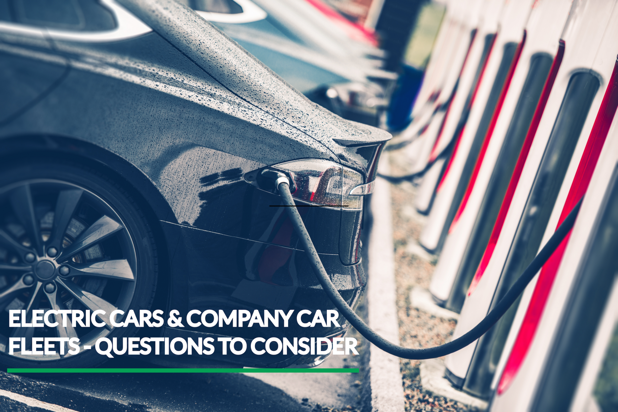 Electric cars in company car fleets – questions you need to ask.