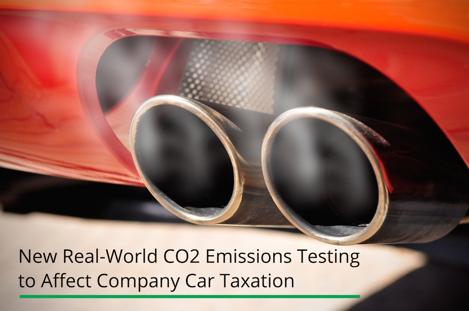 New Real-World CO2 Emissions Testing Set To Affect Company Car Taxation